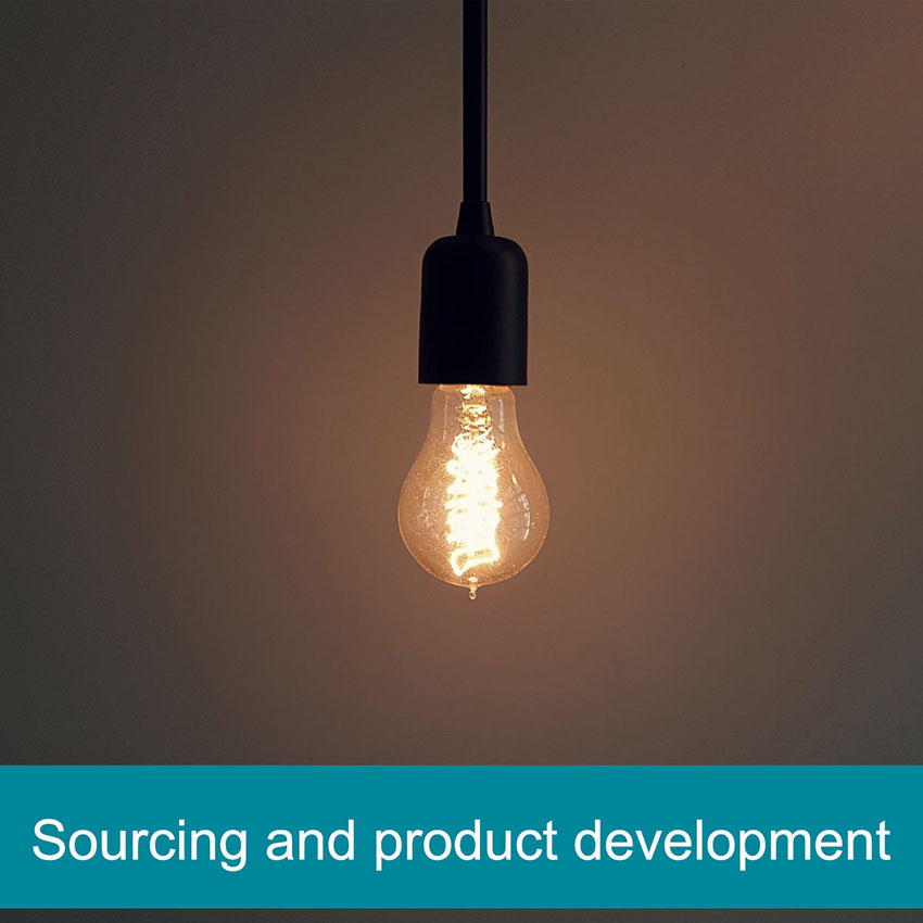Sourcing and product development